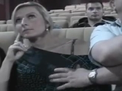 in fucked movie theater Hot girls
