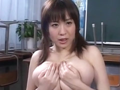 Amazing Japanese whore Nana Aoyama in Incredible Big Tits JAV clip