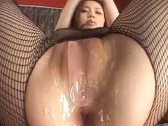Exotic Japanese whore Yui Matsuno in Incredible Stockings/Pansuto JAV movie