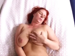 POV Mom Anika (MILF with big natural Euro boobs)