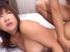 Exotic Japanese model Minori Hatsune in Amazing MILFs JAV clip
