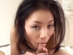 Kinky blowjob in POV along sup - More at Slurpjp.com