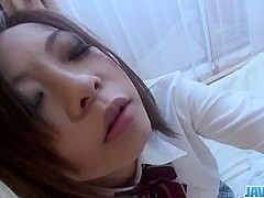 Riko Masaki craves for jizz in her needy mouth