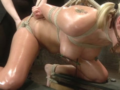 Katie Summers in Katie Summers Tormented Cunt - HogTied