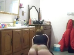 Incredible twerk livecam non-professional movie scene