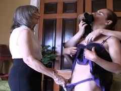 Sissy Femdomeed By Mrs Loving and Ms Simone part two of 9