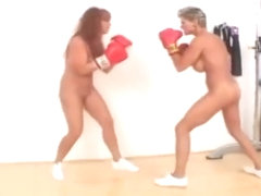Nude boxing beauties