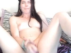 Wild Brunette In A Hard And Intense Pussy Play