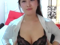 Korean Girl Shows Nice Boobs 12
