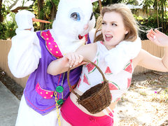 Dolly Leigh in Stealing from the Easter Bunny's Basket - StrandedTeens