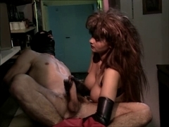 Latex Gloves Tugjob, Prostate Massage & Large Spunk Fountain