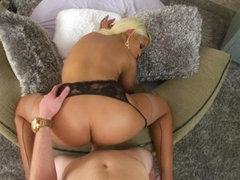 Big tits wife pov and cumshot
