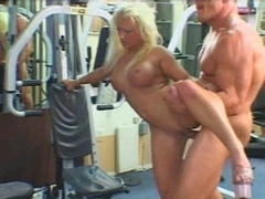 Victoria fuck in gym