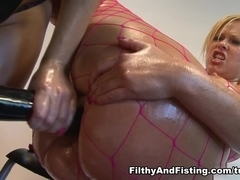 Paige Turnah & Anna Joy in An Oily Fisting Party With Anna Joy & Paige Turnah - FilthyAndFisting