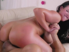 Angela White  Ramon Nomar in A Hot Birthday Surprise For Angela - NewSensations