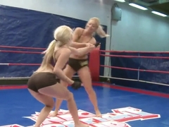 Jessy Volt and Nikky Thorne - girlfriend in the bed and opponents at the ring