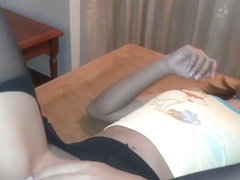 Thai Teen Min Makes Her First Anal Scene Take Massive Cock Up Her Ass Gets Nice Gape Wearing Panty.