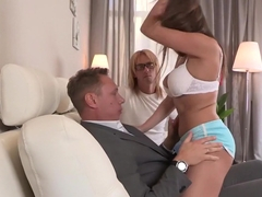 My wife boss sex my