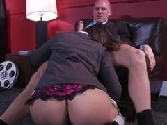 Perfect butthole allie turns ramon fucked
