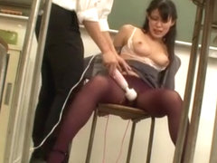Hottest Japanese girl Karen Mizusaki in Horny Threesome, Toys JAV scene