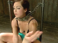 Bryn Blayne & Alani Pi in Bryn Blayne gets a smack-down into submission - Live Show Part 1 - Devic.