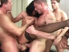 Patricia Gangbanged by Big Cocks