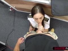 porn Hot stewardess