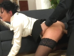 Weird fucked slut pissing