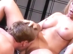 Personal trainer Kevin James (Doyle) fucks sexy blonde woman Ahyran Astyn