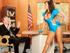 Lisa Ann In Busty Invaders From Mars, Scene 3