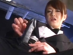 Fabulous Japanese whore Akiho Yoshizawa in Horny Strapon, Fetish JAV video