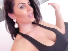 Ann sexy romanian milf show boobs and feet