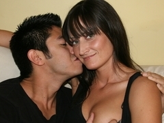 Santina Marie pleasing her boyfriend with her twat
