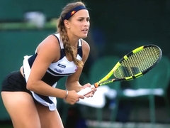 Tennis player has her panties revealed during her matches