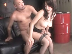 Hottest Japanese girl in Best MILF, Stockings JAV clip