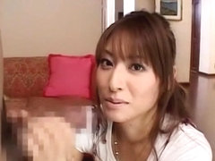 Amazing Japanese whore Saki Kataoka in Horny Handjob JAV scene
