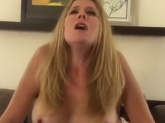 Good Looking Blonde Tries Black Cock
