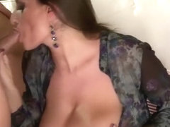 Passionate fucking with a big tits diva