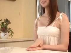 Hottest Japanese girl in Horny Solo, Dildos/Toys JAV clip