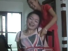 The Disobedient Cleaning Ladies Ticklish Punishment 1/2