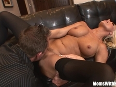 Teen milfsitter milf caught we knocked and