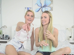 Abby Cross and Molly Mae in Best Friends Lick Together