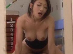 Fucked brunette bondage beautiful big 4578 boobs