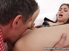 Ashley Woods in Ashley Gets Talked Into Bed - MagmaFilm