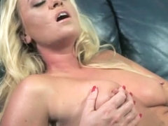 Marvelous milf gets drilled by a young stud and succumbs to pleasure