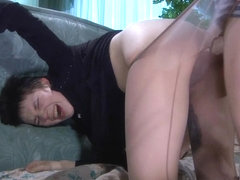 PantyhoseTales Video: Helena A and Steve