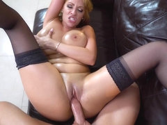 Cummin All Over Juicy Big Tits Is Great - BangBros