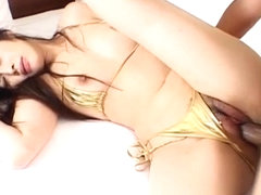 Haruna Ayase sucks vibrator and is fucked