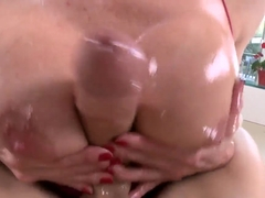 Kendra Lust likes sucking big cocks with her deep mouth