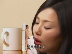 Giantess asian girl give handjob and blowjob (bizarre)